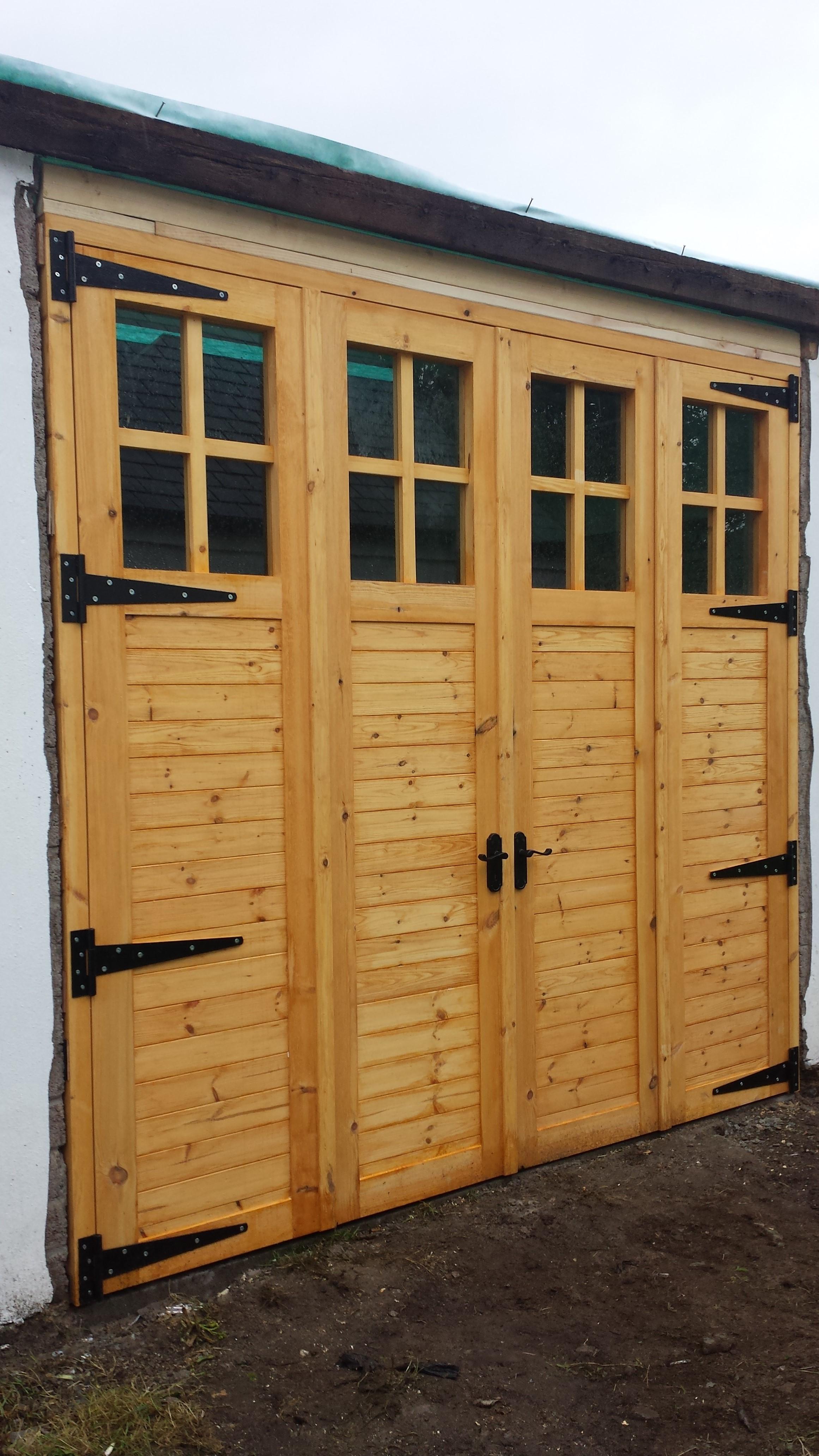folding garage doors. Bi-folding Garage Doors In Portaferry Folding M