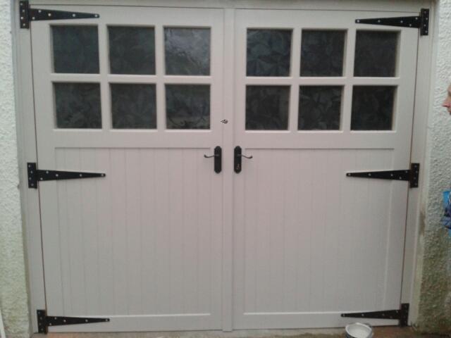 Wooden garage doors in Belfast & Wooden Garage Doors | Wooden Gates Ireland